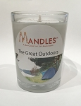 Great Outdoors Mandle Candle for Men