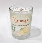 Bamboo & White Grapefruit Mandle Candle for Men