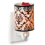 Damask Plug In Wax Warmer