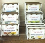Great Outdoors Tealights - Mandles - Candles for Men - Tealights in Manly Scents