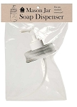CLEARANCE - Mason Jar Soap or Lotion Dispenser Lid