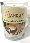 Teakwood & Cardamom Mandle - Candle for Men