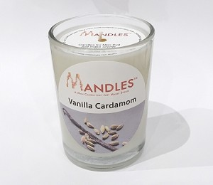 Vanilla Cardamom Mandle Candle for Men
