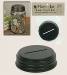 SALE - Mason Jar Coin Lid