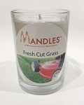 Fresh Cut Grass Mandle Man Candle