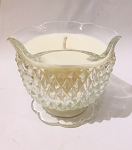 Lilac & Willow Soy Candle - Reclaimed Glass Candle - 1 Available