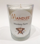 Monkey Farts Candle - Mandle - Candle for Men