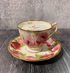 Rose Milk in Royal Albert Old Country Rose Teacup with Saucer