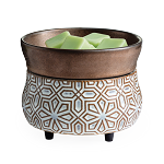 Bronze Geometric 2-in-1 Candle Warmer - Wax Melter - SOLD OUT