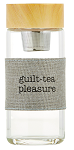 Guilt Tea Pleasure - Tea Infuser Travel Bottle - Travel Water Bottle