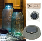SALE - Mason Jar Solar Light tLid