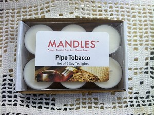 Pipe Tobacco Tealights