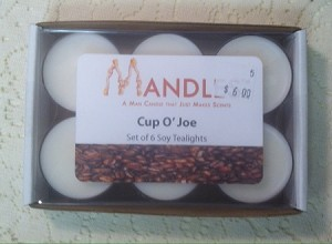 Cup O Joe Tea Lights - Mandles - Candles for Men - Tea Lights in Manly Scents